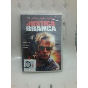 Dvd Justiça Branca - Thomas Jane
