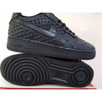 Nike Air Force Cano Baixo Em Couro Original Edição Limitada