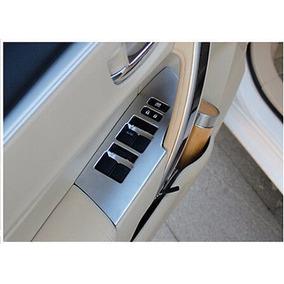 Toyota Corolla Moldura Cromada Comando Vidro Acessórios Aro