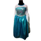 Vestido + Balerina: Elsa Frozen