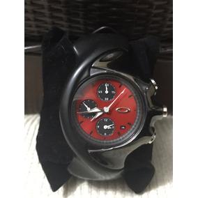 62ffeb15ec8 Relogio Oakley Detonator Polished Black Masculino - Relógios De ...