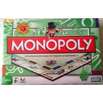 Monopolio -español - Monopoly Juego De Mesa Original Hasbro