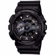 Relógio Casio G-shock Ga-110 1b Wr200 H.mundial 5 Alarmes