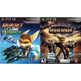 Ratchet & Clank Qforce + Ratchet Deadlocked Ps3 Digital