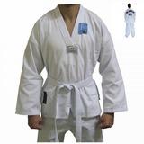 Kimono Reforcado Taekwondo Torah Gola Branca A2