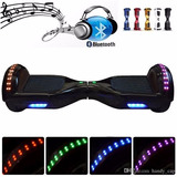 Smart Balance Patineta Electrica Luces Y Parlante Bluetooth