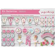 Kit Imprimible Bailarina