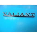 Emblema Valiant Duster Plymouth Cofre Cajuela Clasico
