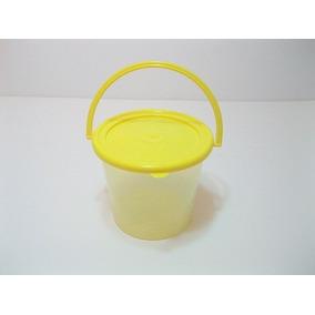 * Cubeta De Plástico Dulcero Centro De Mesa Regalo Aguinaldo