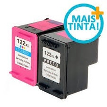 Cartucho Hp 122 Xl Preto + Hp 122xl Color 1000 2050 3050