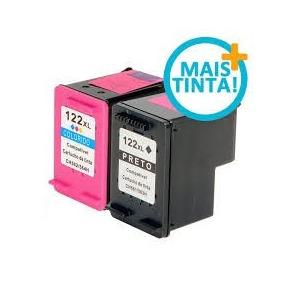 Cartucho Hp 122 Xl Preto + Hp 122xl Color 1000 2050 3050