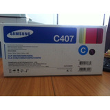 Toner Samsung Clt-c407s Cyan