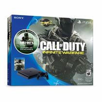 Ps4 Slim 500gb Call Of Duty Infinite Warfare Preciazo Wow !!