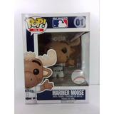 Mariner Moose 01 Funko Pop Mlb Mascots Beisbol