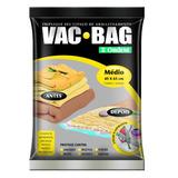 Embalagem Vac Bag Médio 45x65cm - Ordene