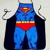 Mandil De Súper Chef, Diseño De Superman