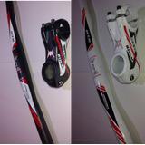 Guidão Bicicleta Gts 690mm + Mesa Gts 80mm Aluminio 31.8mm