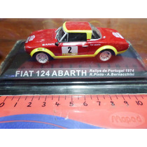 Ixo Altaya 1/43 Fiat 124 Abarth Rally Portugal 1974