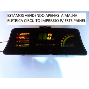 Kadett Gsi Monza Malha Painel Digital Circuito