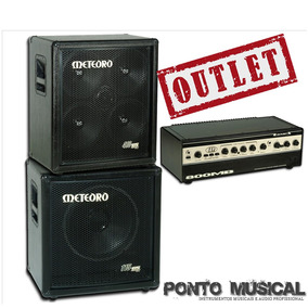 Cabeçote Mb800 + Caixas Para Baixo - Outlet