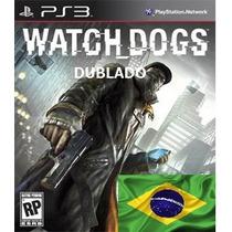 Watch Dogs - Psn - Dublado - Ps3