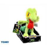 Pelúcia Pokémon Treecko Oficial - Tomy