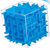 Cubo Laberinto Rompecabezas 3d Azul J1076