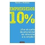 Libro Emprendedor 10% Patrick Mcginnis + Regalo