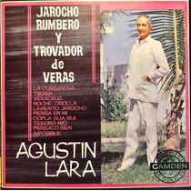 Cd Agustin Lara Jarocho Rumbero Y Trovador De Veras