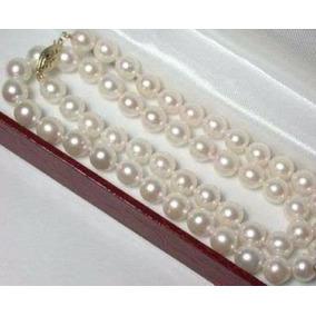 82da6749c617 Collar De Perlas Con Broche De Oro - Joyería en Mercado Libre México
