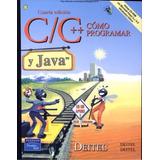 Libro: Cómo Programar En C/c++ Y Java - Harvey M. Deitel Pdf