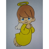 Figuras Goma Eva- Angelitos