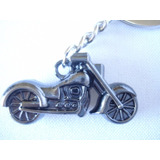 Chaveiro Moto Vintage Chopper Bike Retro