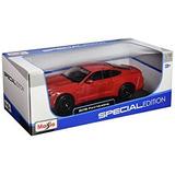 Coleccionable 2015 Ford Mustang Gt 5.0 Rojo 1/18 Por Maisto