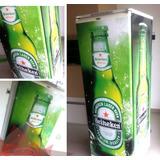 Adesivo Geladeira Decorativo Heineken Budweiser Brahma