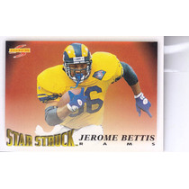 1995 Score Star Struck Jerome Bettis Rb Rams