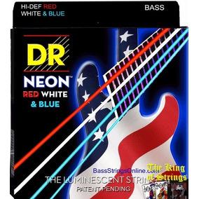 Encordoamento P/ Baixo De 4 Cordas Dr Neon Usa .40