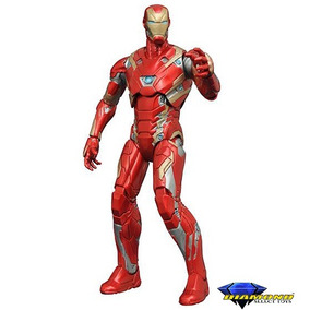 Boneco Homem De Ferro Iron Man Armadura 46 Marvel Select