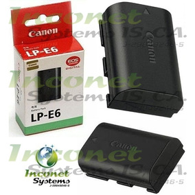 Bateria Canon Lp-e6 Para Camaras Canon Eos 5d 6d 7d 60d 60da