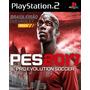 Pes Pro Evolution Soccer 2017 Playstation2