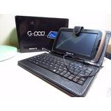 Tablet Master G G-pad 7 Con Funda De Cuero Y Teclado