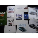 Lote Folleto Peugeot 306 106 No Manual Insignia Test Match