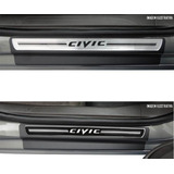 Soleira Premium Honda New Civic 2007 08 09 10 11 12 13 2014