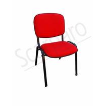 Longarinas Para Igreja, Cadeira Iso Tapecada Empilhavel