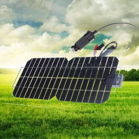 10w Painel Solar Semi-flexivel Placa Fotovoltaica -18v