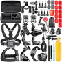 Neewer 44-in-1 Action Camera Accessory Kit For Gopro Hero