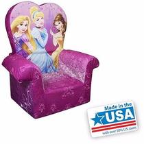 Silla Sillon Infantil Con Respaldo Alto Disney Princesas Nb
