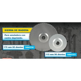 Disco Corta Madera Amoladora 115 Mm 96 Dientes Na 8103