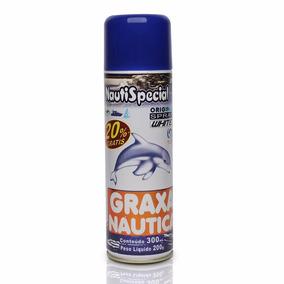 Graxa Náutica Branca Spray 300 Ml - Nautispecial - Náutico