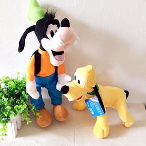 Pluto E Pateta Pelucia Kit Musical Frete Gratis
